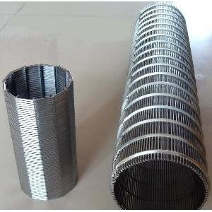 SS Wedge Wire Mesh Screen For Mining And Oilfield Screening Filtration