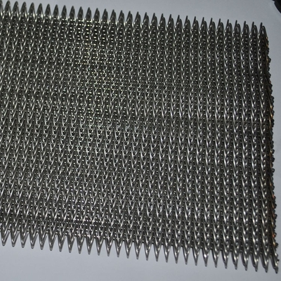 Crimped Wire Mesh Compound Balanced Belt With High Degree Corrosion