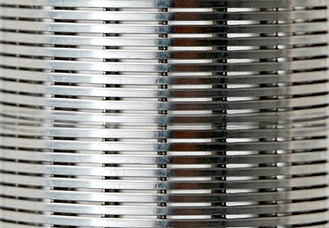 0.1-1.0mm Slot Wedge Wire Screen Panels For Food & Beverage Screens