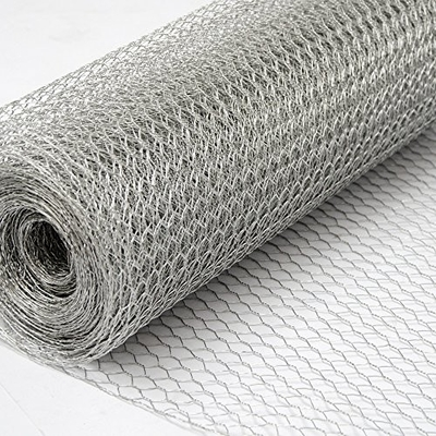 Chicken Coop Galvanized Hexagonal Wire Netting Twisted Weave Style Iron Wire