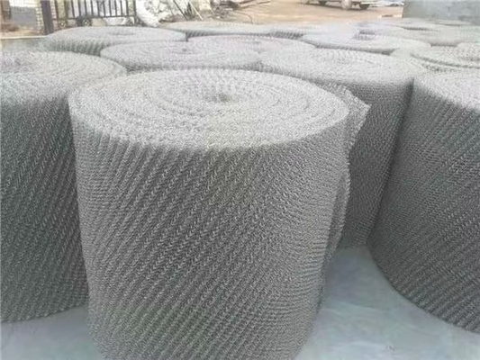 Gas Liquid Filter Stainless Steel Knitted Wire Mesh 0.3mm - 5.0mm Wire Gauge