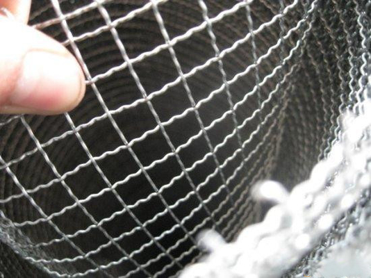 Sus Vibrating Sieve Screen Crimped Wire Mesh Replacement For Decoration